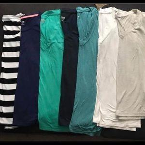 Target lot -mossimo/merona 7 shirts read descript